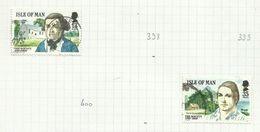 Ile De Man N°397, 401, 412 à 414 Cote 4.50 Euros - Isle Of Man