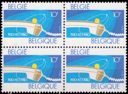 Belgium 1969** X 4  RTT  MNH - Belgium