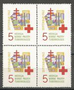 Yugoslavia,TBC 1962.,block Of Four,MNH - 1945-1992 Socialist Federal Republic Of Yugoslavia