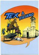 659> CARTOLINA Di TEX A FILIANO (Potenza) = Per La MOSTRA Dal 29 Agosto Al 12 Settembre 2004 - Rara - Fumetti