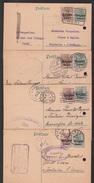 BELGIQUE Lot De 15 Entiers Postaux Et Cartes  Circulé (9) Voir Scan Pour Les Cachets. - Guerre 14-18