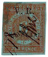 (I.B) Transvaal Revenue : Duty Stamp 6d (VRI TRANSVAAL) - South Africa (...-1961)