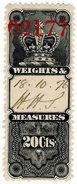 (I.B) Canada Revenue : Weights & Measures 20c - Canada