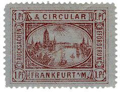 (I.B) Germany Local Post : Frankfurt 1pf - Germany
