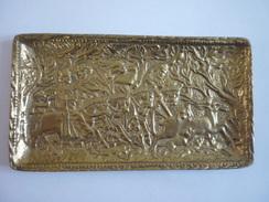 Plat En Bronze - Max Le Verrier - Art Déco - Bronzes