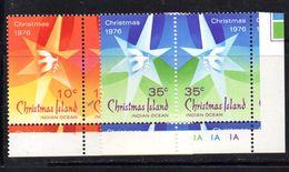 XP2048 - CHRISTMAS ISLANDS 1976 , Yvert N. 65/68  ***  . Natale - Christmas Island