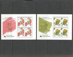Korea. Seoul Olympics 1988, Block 525 Und 526 Postfrisch ** - Korea (Süd-)