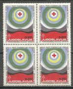 Yugoslavia,TBC 1972.,block Of Four,MNH - Unused Stamps