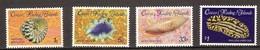Cocos Keeling Islands 1985 Yvertn° 134-37 ***  MNH Cote 8 Euro Faune Marine Coquillages Schelpen - Cocos (Keeling) Islands