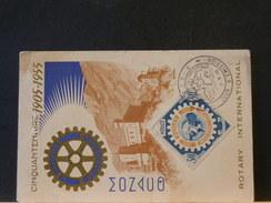 73/851  CP MONACO - Rotary, Lions Club