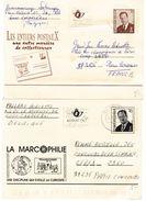 376 :  UNICEF, BELGIQUE, 4 Entiers Postaux (3 Sont Illustrés) - Enteros Postales