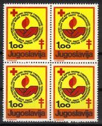 Yugoslavia,TBC 1978.,block Of Four,MNH - Unused Stamps