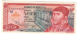 Mexico 20 Pesos 08/07/1977 UNC .C. - Messico
