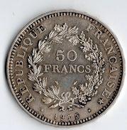 Pièce Argent , 50 Francs ,1975 - M. 50 Francs