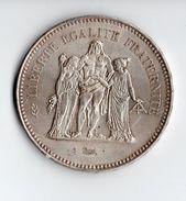 Pièce Argent , 50 Francs ,1974 - M. 50 Francs