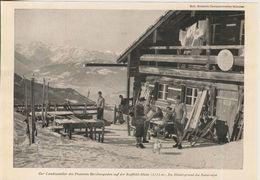 Berchtesgaden V. 1953  Der Landzusteller Des Postamts Berchtesgaden Auf Der Roßfeld Hütte  (51227) - Berchtesgaden