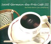 Cd  Saint Germain Des Pres Cafe 3 The Finest Electro Jazz Compilation - Jazz