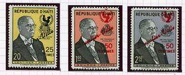 Haïti  ** N° 471 - 474 - 475 - Au Profit De La Construction De Duvalier-Ville - - Haití