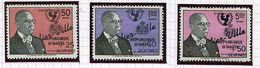 Haïti  ** PA 231 à 233 (en L'état) - Au Profit De La Construction De Duvalier-Ville - - Haití