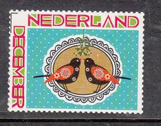 Nederland  2011 Nvph Nr 2897 Mi Nr  2939 Dcecember Zegel Met 2 Vogels, Bird Postfr - Periode 1980-... (Beatrix)