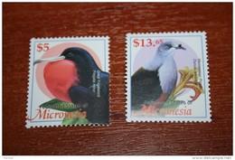 Birds 2002  Micronesia Rare Nominal 5$ And 13.65$ - Birds
