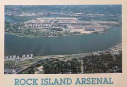 1 AK Rock Island Located On Arsenal Island In The Mississippi River - Photo: Richard Foerster - Stati Uniti