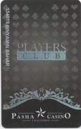 Chypre Du Nord : Pasha Casino Players Club : North Cyprus Nicosia - Casinokaarten
