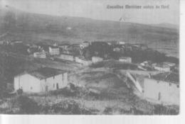 VENDO N.1 CARTOLINA DI CASTELLINA MARITTIMA(PI)VEDUTA DA NORD,FORMATO PICCOLO VIAGGIATA NEL 1922 CON FRANCOBOLLO - Pisa