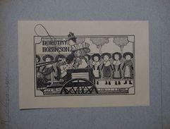 Amérique - Ex-libris Illustré - Dorothy ROBINSON - Ex-libris