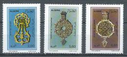 Algérie YT N°1037/1039 Heurtoirs Pour Portes D'entrée Neuf ** - Algeria (1962-...)