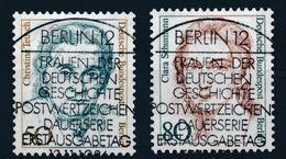 Berlin - Femmes De L'Histoire Allemande YT 731-732 Obl./  Frauen Der Deutschen Geschichte Mi.Nr. 770-771 Gest. - Berlin (West)