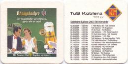 #D174-006 Viltje Königsbacher - Sous-bocks