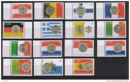 Vaticano 2004 L'Euro Unisce L'Europa  La Serie Cpl.15 Valori Nuovi** - Vatican