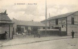 ROBINSON - Maison Wolf.Chevaux De Selle. - Francia