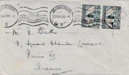 AFRIQUE DU SUD :  Divers Sur Lettre Pour La France De 1940 - South Africa (...-1961)