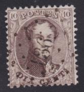 N° 14 Lp. 136 FRASNES  Coba+30 - 1863-1864 Médaillons (13/16)