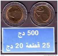 Algérie - Lion- Pièce Bimétallique  UNC ( Issue De Rouleaux) 20.00 DA (Lion) 2015-1436. - Algeria