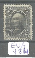 EUA Scott  90 Grille E  YT 23a # - Used Stamps