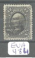 EUA Scott  90 Grille E  YT 23a # - 1847-99 Emissions Générales