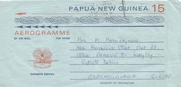 Papua New Guinea PNG 1975 Lae Bird Of Paridise Aerogramme - Papoea-Nieuw-Guinea