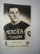 Ciclismo , Cyclisme. Photo Format Cp , JOSEPH SPRUYT , MERCIER HUTCHINSON - Other