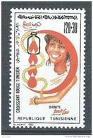 "Tunisie YT 1204 "" Croissant-Rouge "" 1993 Neuf** - Tunisia"
