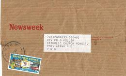Papua New Guinea PNG 1982 Port Moresby Postal Service Domestic Newspaper Wrapper - Papoea-Nieuw-Guinea