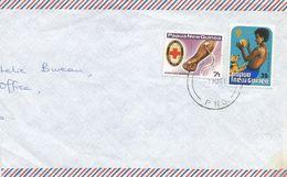 Papua New Guinea PNG 1981 Mendi Blood Transfusion IYC Child Dog Playing Cover - Papoea-Nieuw-Guinea