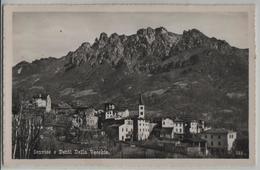 Sonvico E Denti Della Vecchia - Photo: Ditta G. Mayr No. 336 - TI Tessin