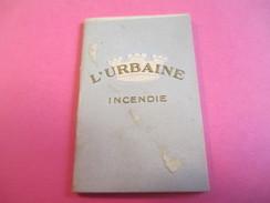 Mini Calendrier - Carnet / L'URBAINE/ Cie D'ASSURANCES/Incendie/Bd Haussmann Paris/ 1932             CAL376 - Calendriers