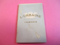 Mini Calendrier - Carnet / L'URBAINE/ Cie D'ASSURANCES/Incendie/Bd Haussmann Paris/ 1932             CAL376 - Calendars