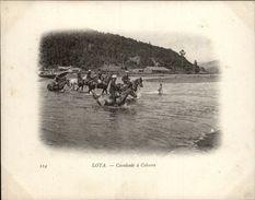 Campagne DUGUAY-TROUIN 1902-1903 - Voilier - Expédition - CHILI - LOTA - Cavalcade à Colcura - Chevaux - Chili