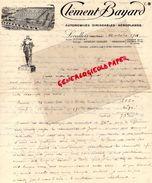 92-LEVALLOIS-RARE LETTRE MANUSCRITE -CLEMENT BAYARD- AUTOMOBILES-DIRIGEABLES-AEROPLANES-AUTO-AVIATION-QUAI MICHELET-1916 - Cars