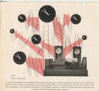 Deutsche Bundespost V. 1953  Die Zeitansage  (51231) - Poste & Facteurs